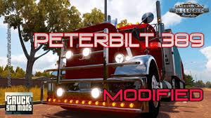 kenworth vs peterbilt modified peterbilt 389 v2 0 8 for ats american truck simulator