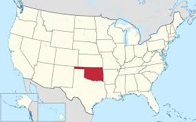 United States Map With State Names by List Of Cities In Oklahoma Wikipedia