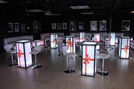 party furniture rental light up furniture rentals in ct ma ri ny greenwich ct