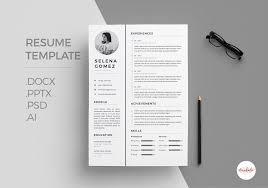 modern resume templates free download psd effects professional cv template resume templates creative market