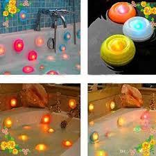 2017 pool led night light bubble lights colorful floating bath