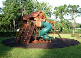 Small Backyard Ideas For Kids by Triyae Com U003d Mulch Backyard Playground Various Design