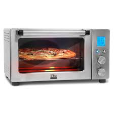 Cuisinart Counterpro Convection Toaster Oven Elite By Maxi Matic 6 Cu Ft Elite Platinum Smart Toaster Oven