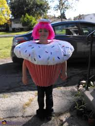 cupcake costume diy cupcake costume