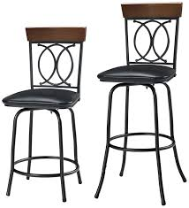 linon home decor bar stools amazon com linon home o x 3 piece adjustable stool set kitchen