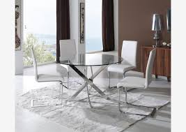 table de cuisine ronde en verre pied central vintage 3 personne table de cuisine ronde en verre pied central