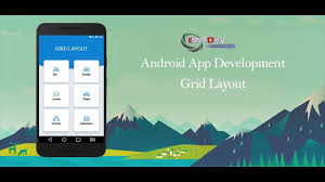 android studio dashboard tutorial android studio tutorial grid layout and cardview youtube