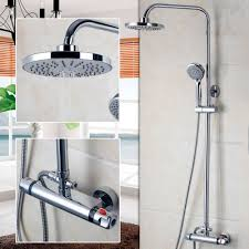 popular shower bathtub faucets buy cheap shower bathtub faucets thermostatic bathtub faucet shower head handle bathroom faucets bath thermostatic faucet mixer wall mounted thermostatic faucet