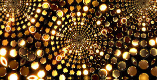 gold lights kaleido by as 100 videohive