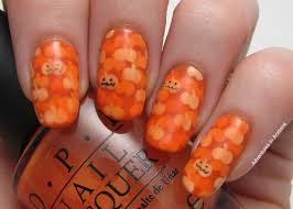 tutorial tuesday pond pumpkins nail art adventures in acetone