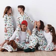 raccoon matching family pajamas the company store