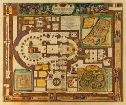 Map Of Jerusalem Map Of Jerusalem At The Time Of Christ 1584 Adrichem