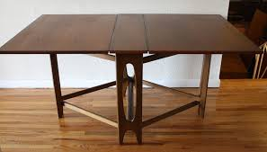 collapsible high top table how to stabilize a foldable dining table cole papers design