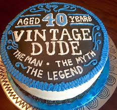 image result for 40th birthday cake ideas for men birthday party