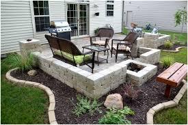 backyards impressive diy backyard stone paver patio tutorial 106