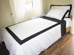 Yellow And White Duvet Queen White Duvet Cover With Black Border On Top 4 Pcs Black