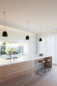 black kitchen pendant lights galley kitchen ideas for a scandinavian kitchen with a black pendant