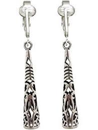 clip on dangle earrings women s clip on earrings