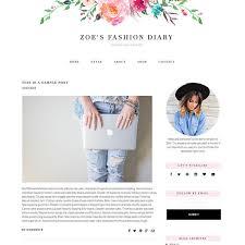 blog design ideas blogger template feminine blogger theme responsive blogger