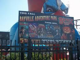halloween at bayville scream park alan n shapiro visiting