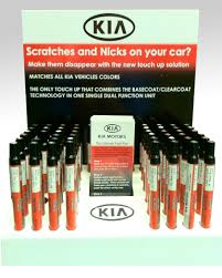 kia touch up touch up paint pen paint pen spicy red oe genuine 4iy