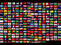 flags of all countries of the world with names 3th part by