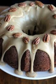 lemon hazelnut bundt cake eat with a cup of coffee