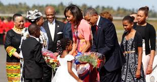Obama First Family by President Obama And The First Lady In Tanzania Photos