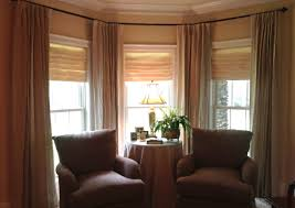 curtains curtains for bay windows in living room wonderful white