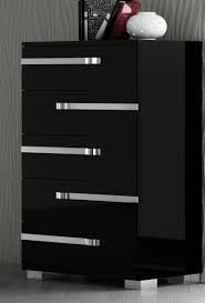 Bedroom Set Made In Usa Volare King Size Modern Black Bedroom Set 5pc Made In Italy Ebay