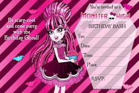 monster high party invitations plumegiant com