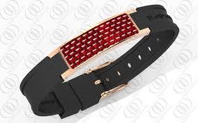 magnetic clip bracelet images 18k rose gold carbon fiber magnetic health bracelets jewelry jpg