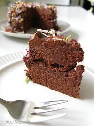 raw chocolate cake recipe eating vibrantly