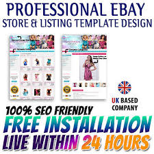 ebay store u0026 listing auction templates for apparel clothes