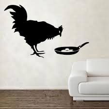 compare prices on banksy wall murals online shopping buy low banksy chicken egg wall decal vinyl sticker home decor wall art mural removable decoration animal decals