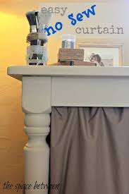 Easy No Sew Curtains Easy Diy No Sew Curtains