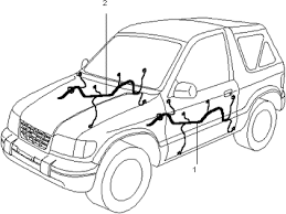 door wiring harnesses for 2000 kia sportage old body style