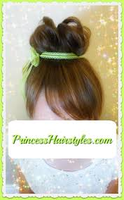 tinkerbell hairstyle tinker bell hair tutorial hairstyles for girls princess hairstyles
