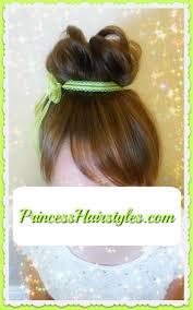 hair tutorial tinker bell hair tutorial hairstyles for girls princess hairstyles