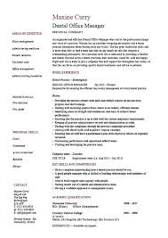 office manager resume template dental office manager resume sles