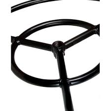 gas fire pit ring dagan industries 19 inch round double natural gas fire pit ring