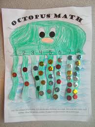 chipman u0027s corner preschool o is for octopus math