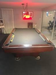 black pool table with grey felt for the game room pool room um