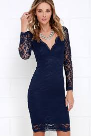 blue lace dress lovely navy blue dress lace dress midi dress 49 00