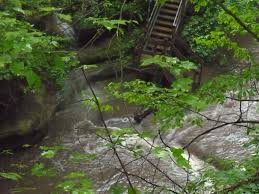 Matthiessen State Park Trail Map the surprisingly narrow and deep canyon in the midwest wearing