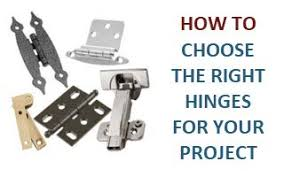 what size screws for kitchen cabinet door hinges choosing the right cabinet hinge for your project