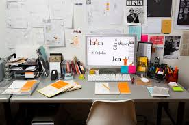 Graphic Designer Desk Make Your Creativity More Productive Around The Office How Design