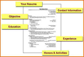 how to write a simple resume format how to make a simple resume simple resume jennywashere