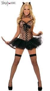 Bettie Halloween Costume Leopard Deluxe Costume Leopard Costume Leopard