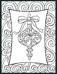 decorations coloring pages ornament coloring sheet